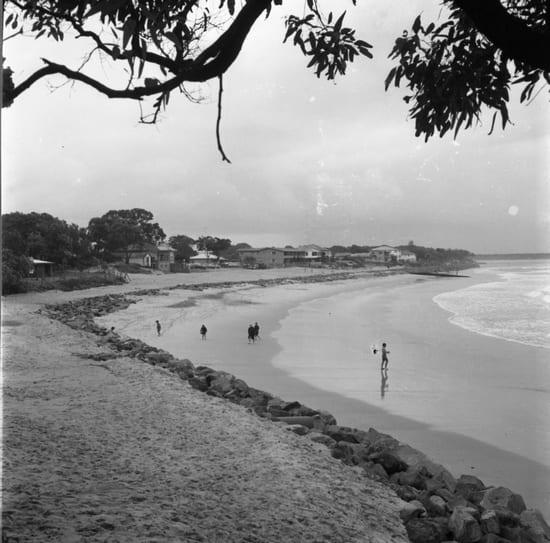 Noosa Main Beach 1970