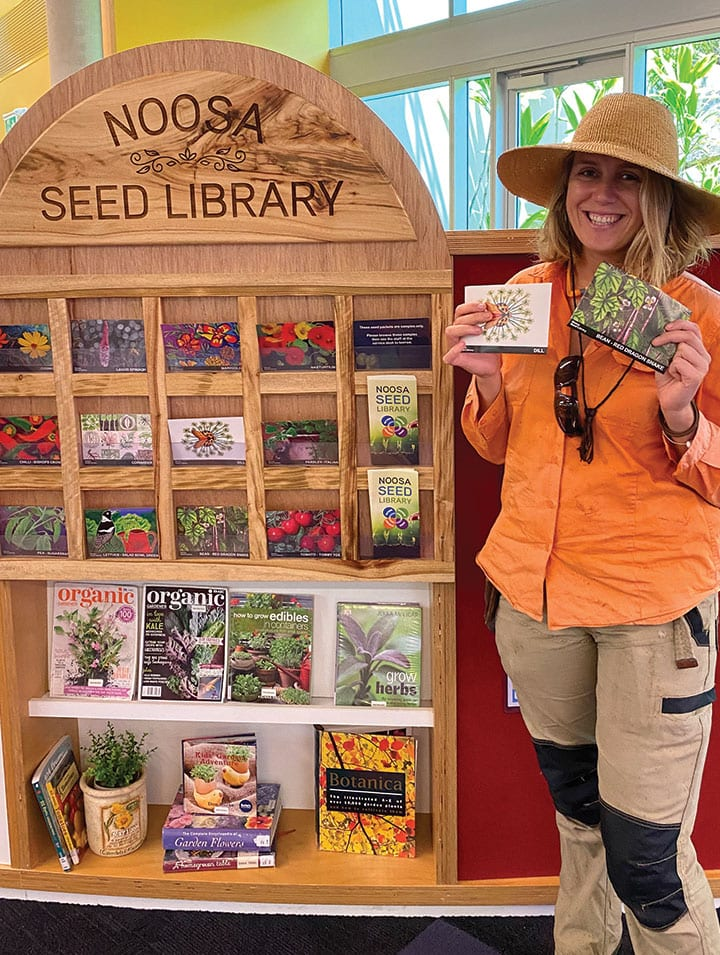 Borrow Seeds With Your Books!