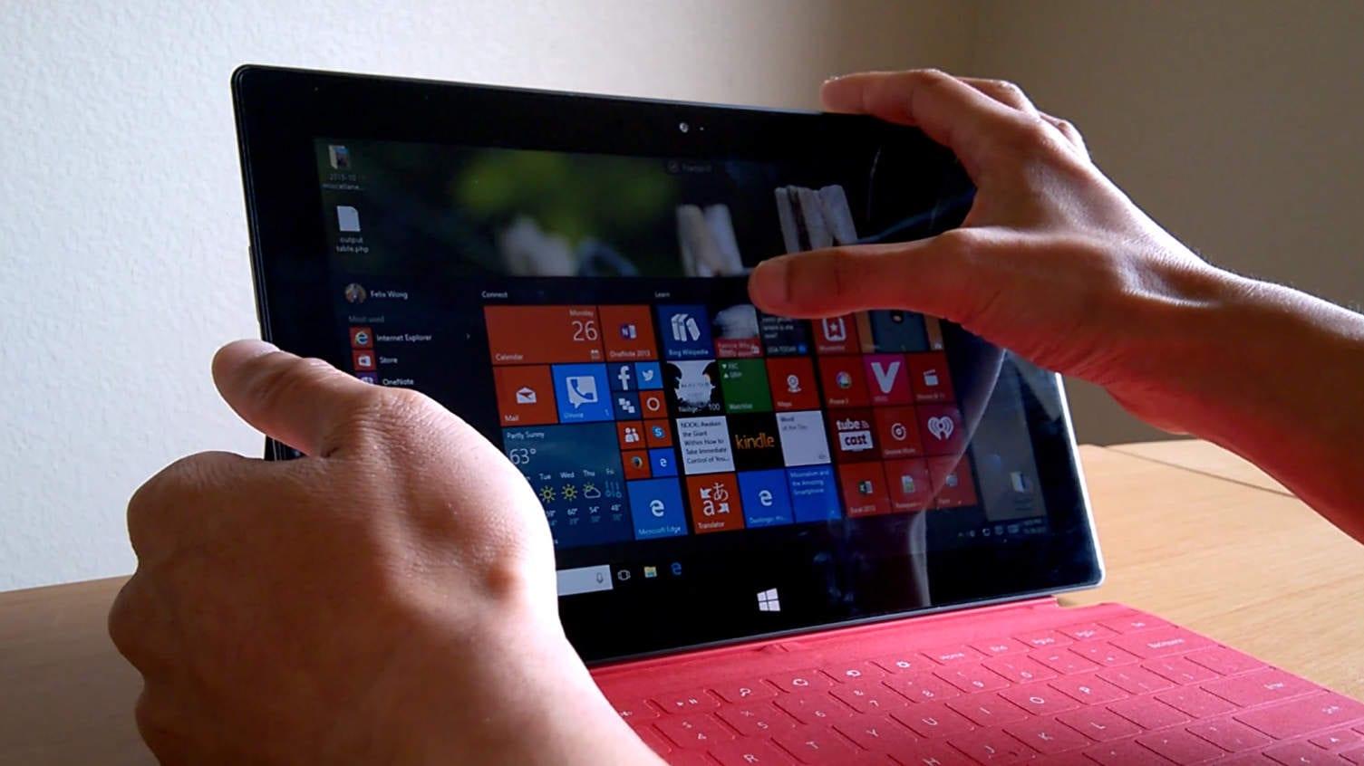 Windows 10 On Surface Rt